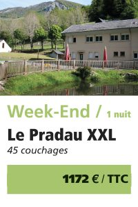 Le Pradau XXL - Weekend